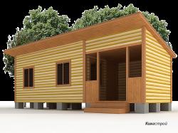 Садовый дом К-08 - Построй свой садовый дом в Ленинградской области