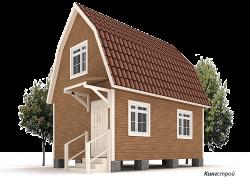 Каркасный дом К-17 - Небольшой каркасный дом