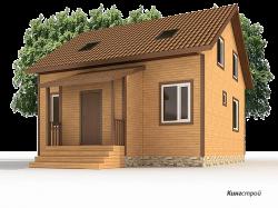 Проект дома К-33 - Строительство домов в Ленинградской области, Кингисеппском районе.