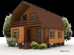 Проект дома К-24 - Зимний дом из профилированного бруса в Ленинградской области, Кингисеппском районе