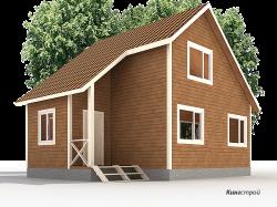 Проект дома К-28 - Каркасные дома цены спб в Ленинградской области