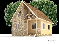 Каркасный дом К-22 - Построить каркасный зимний дом в Ленинградской области